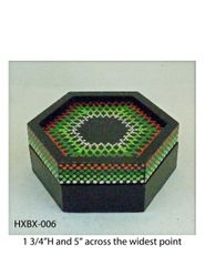 Hexagonal Box #6