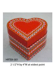 Heart-shaped box
