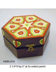 Hexagonal Box #19