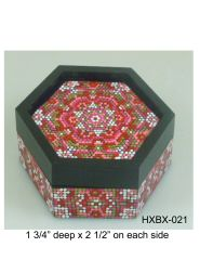 Hexagonal Box #21