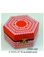 Hexagonal Box #20