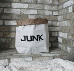 Paper Storage Bag - Junk