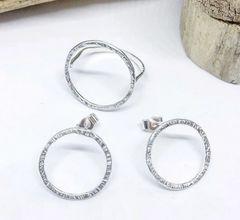 Circle Earrings / Ring