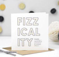 Fizzicality (Prosecco) Card