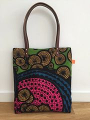 African Inspired Tote Bag