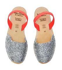 Silver Glitter Neon