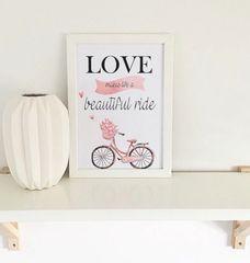 Beautiful Ride Print
