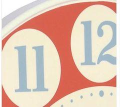 Kitchenette Clock Large Poppy
