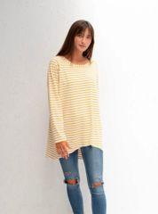 Mustard Stripe Top
