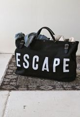 Monochrome Special Escape Utility/Travel Bag - Black