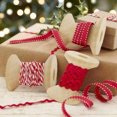 Festive Christmas Ribbons Kit