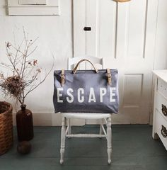 Escape Utility/Travel Bag - Summer Blue Special Edition