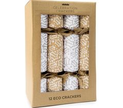 Silver Holly Crackers