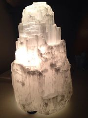 Medium Selenite Lamp