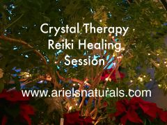 Crystal Reiki Therapy Sessions