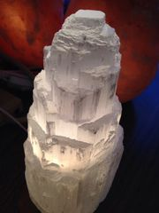 Extra Large Selenite Lamp