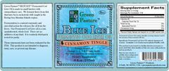 BLUE ICE™ Fermented Cod Liver Oil - Cinnamon Tingle