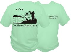 Southern Sportsman Duck Hunt Short Sleeve T-shirt ( 10 Different Colors )