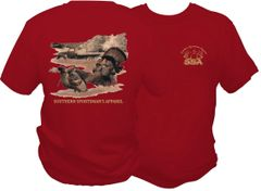 Farmland Turkeys Cardinal Short Sleeve & Long Sleeve T Shirts