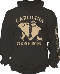 Carolina Coon Hunter Hoodie ( 7 Different Colors )