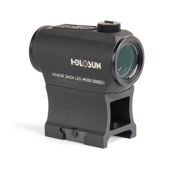Holosun® Shake Awake™ HS403B Micro Red Dot Sight 2MOA