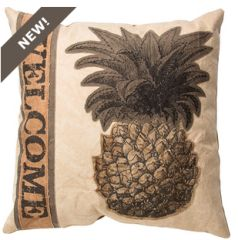 Pillow - Welcome Pineapple