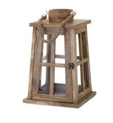 Maddie Wood Lantern