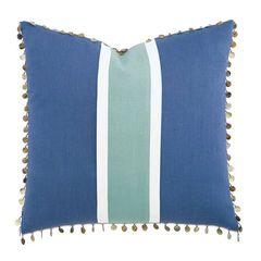 Breeze Aqua Pillow