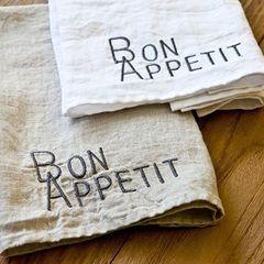 Bon Appetit Napkins Set of 4