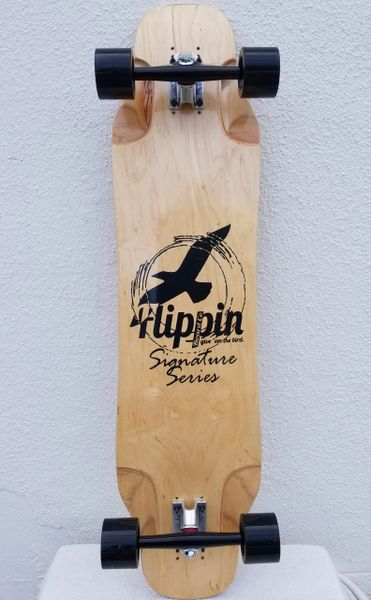 Flippin Board Co Signature Series Longboard Downhill Skateboard Cruiser Freeride
