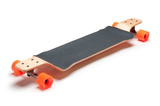 Pusher 2.0 Longboard Larry Complete Skateboard Drop Deck