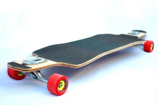 Emporer Penguin Longboard Larry Skateboard Complete Custom