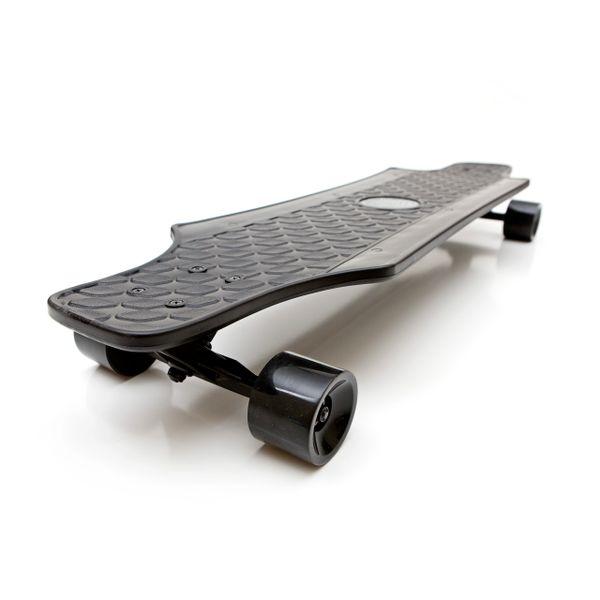 White Wave Fury Complete Longboard Skateboard