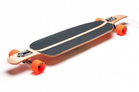 Longboard Larry Screaming Mary Complete Skateboard Drop Through