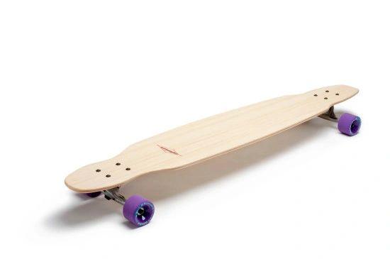 Komodo Longboard Larry Skateboard Complete Carving Cruising Sup