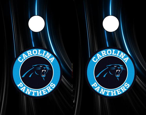 Carolina Panthers Laminated Wrap Cornhole Game Boards The Cornhole