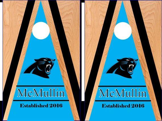 Carolina Panthers Cornhole The Cornhole Xpress Custom Cornhole