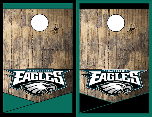 Philadelphia Eagles Cornhole Board Game | The Cornhole Xpress Custom ...
