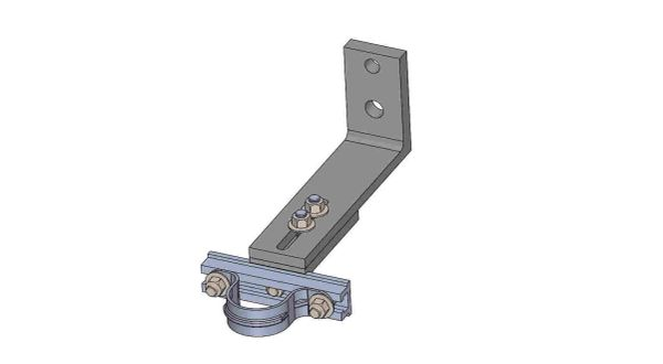 """NW10A-5-1.5X----Mounts a 1.5"""" conduit. Adjusts from 8 - 10 inches off the pole."""