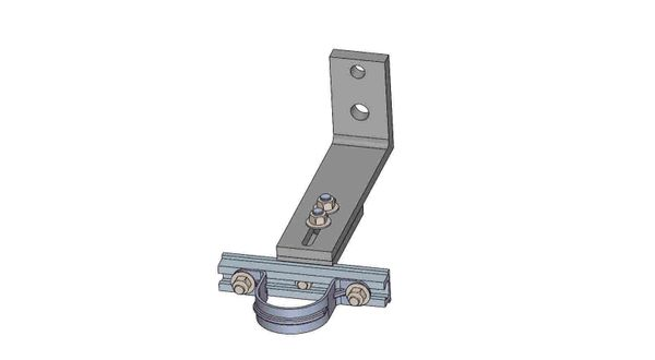 """NW10A-6-2X----Mounts a 2"""" conduit. Adjusts from 8 - 10 inches off the pole."""
