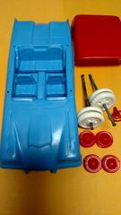 MX50-1 Marx Car Hauler/Doll House cars