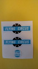 HU495J Hubley Flying Circus Decals