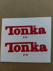 Red Tonka Decals TK81A PG. 68