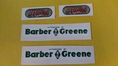 Doepke Barber Greene Decals DPB Page 78