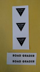 Nylint Road Grader Decals NYR Page 83