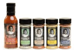 Cherokee Whiskey Chipotle Barbecue Sauce & Seasonings Five Case Family Deal.