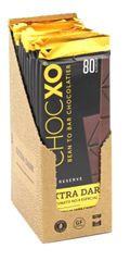 ChocXO Fortunato Chocolate Dark (Single Origin) Peruvian (12 Bars) Retail Display