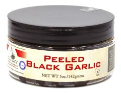 "Black Garlic "" Peeled "" 5 oz Jar"