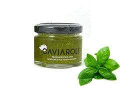 Caviaroli Olive Oil with Basil (50 Grams)