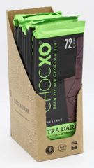 "ChocXO Single Origin 72% Chocolate: CAMINO VERDE ECUADOR ""12 Bars"""